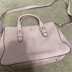 Kate spade cross body light pink new